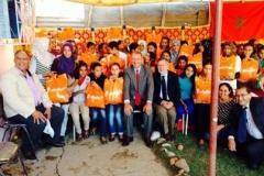 L'Ambassade des Pays-Bas célèbre l'Achoura avec les bénéficiaires du foyer de Mograne