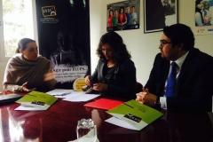 signature-dune-convention-de-partenariat-avec-Exp-Services-Maroc_Janvier-2014