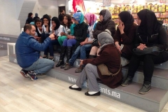 Visite-SIEL_Bénéféciaires-foyer-Kelâat-Seraghna_Février-2014_2